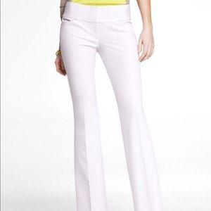 Express White Editor Dress Pants
